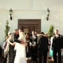 Wedding-ceremony-outside-cottage